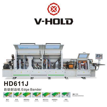 دستگاه لبه چسبان hd611j