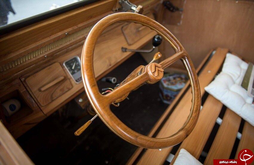ساخت اتومبیل چوبی