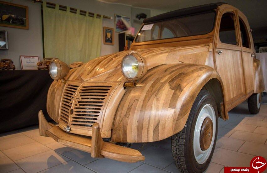ساخت خودرو چوبی