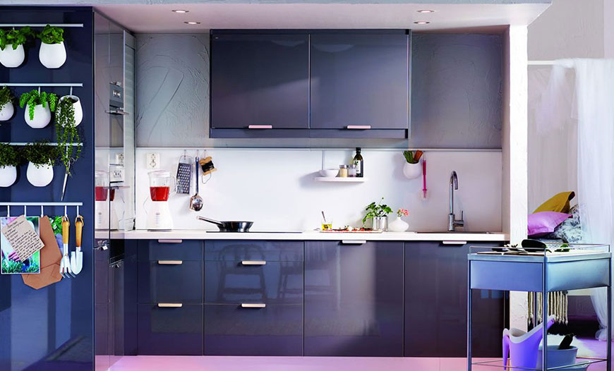 انتخاب رنگ مناسب برای کابینت آشپزخانه