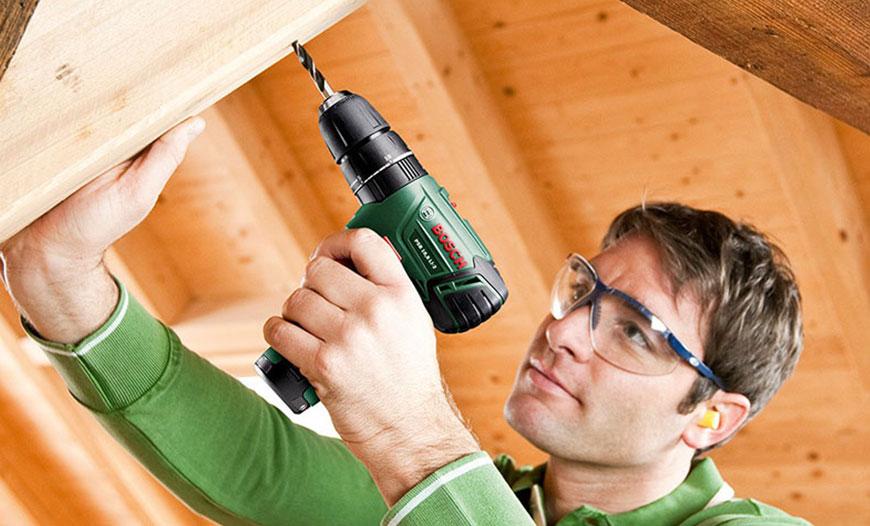 استفاده از دریل در صنایع چوبی