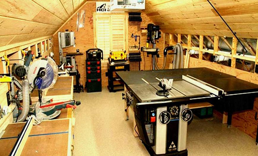 برای راه اندازی کارگاه نجاری باید از فضای کافی و مناسب برخوردار بود