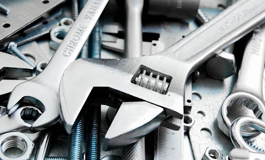انواع آچار یکی از 10 ابزار ضروری مورد استفاده