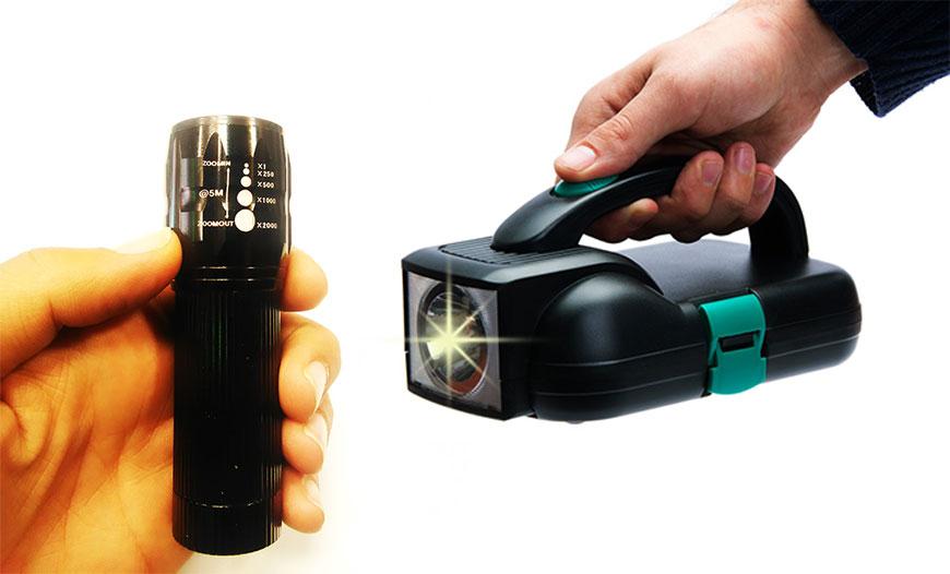 چراغ قوه ها یکی از ابزارهای پر کاربرد در مواقع اضطراری